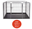 Heavy-Duty-4pc-Puppy-Play-Pen-Dog-Crate-Whelping-Box-Rabbit-Enclosure-Dog-Cage thumbnail 10