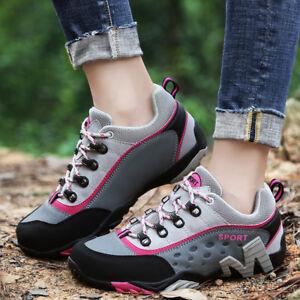 Women Breathable Climbing Sneakers Walking Hiking Shoes Sneaker