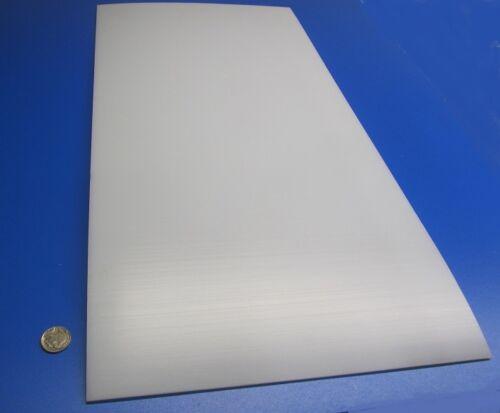 "1//8/"" Tivar UHMW PE White Sheet .125/"" Thick x 12/"" x 24/"""