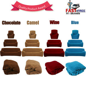 Easy-Fit-Sofa-Couch-Slip-Covers-Loveseat-Recliner-Lounge-Protector-1-2-3-Seater