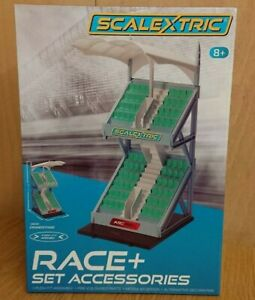 Scalextric-C8320-Grandstand-Push-Fit-Assembly-Building-NEW
