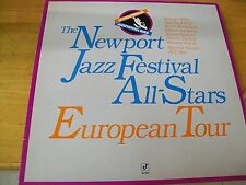 THE NEWPORT JAZZ FESTIVAL ALL-STARS EUROPEAN TOUR LP AL COHN SCOTT HAMILTON