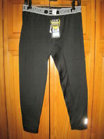 Under Armour Cold Gear Fitted Tights Yxl Xl Black Long Underwear Insulated