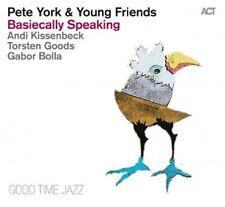 PETE YORK - BASIECALLY SPEAKING  CD  MODERN JAZZ  NEU