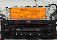 Peugeot 207 307 3008 Expert Partner RD45 RCZ Bluetooth USB Aux Radio