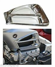 ADD-0N 45-1696 CHROME AIR EXHAUST ACCENTS GL1800 GOLDWING 2012-2016
