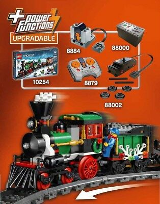 LEGO Power Functions 8884 8879 88000 88002 Motor for 10254 Winter Holiday Train