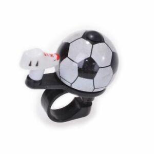 Fahrrad-Klingel-Glocke-Fussball-Miniglocke-Fahrradklingel-Fussball-Design