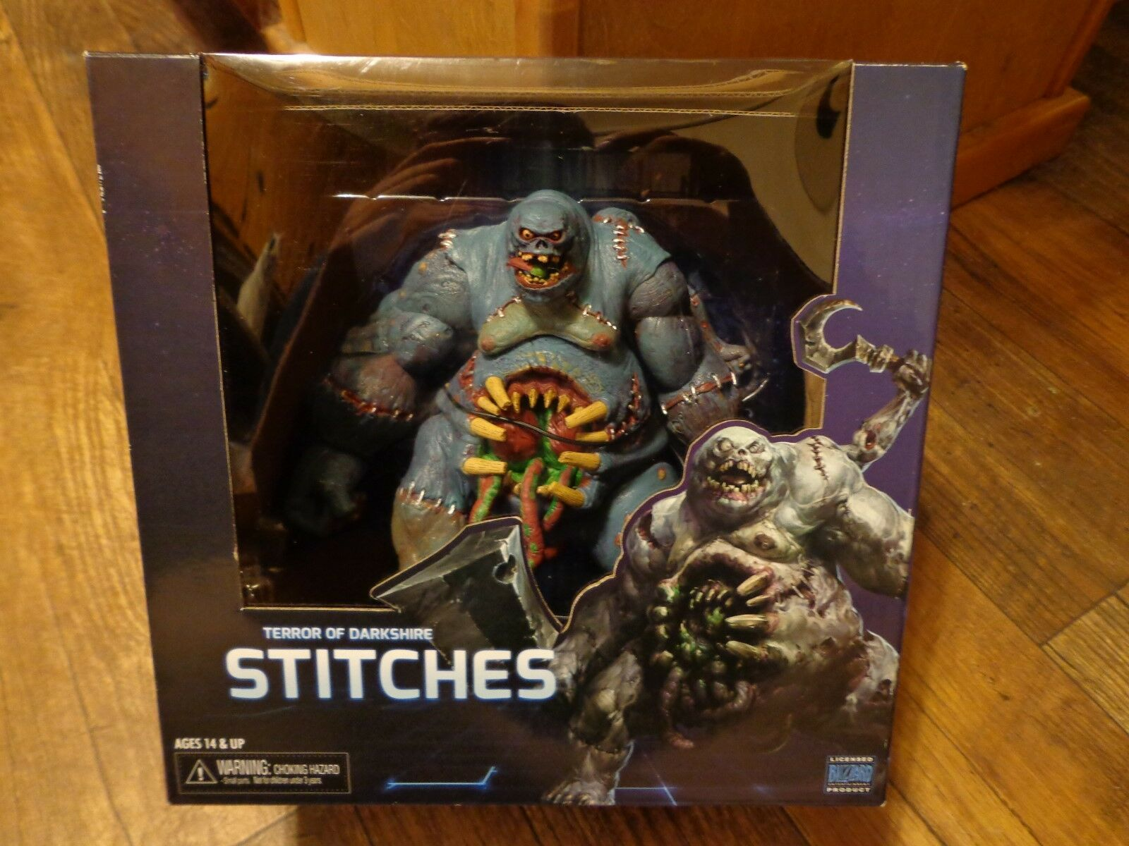 2015 NECA--HEROES OF THE STORM--TERROR OF DARKSHIRE STITCHES FIGURE (NEW)