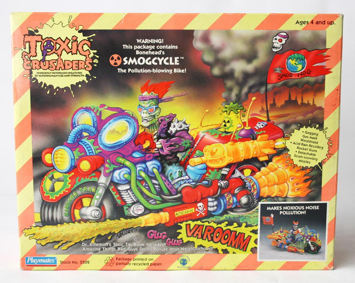 Rara Vintage 1991 tóxico cruzados Smogcycle estúpidas smog ciclo Jugarmates  nuevo