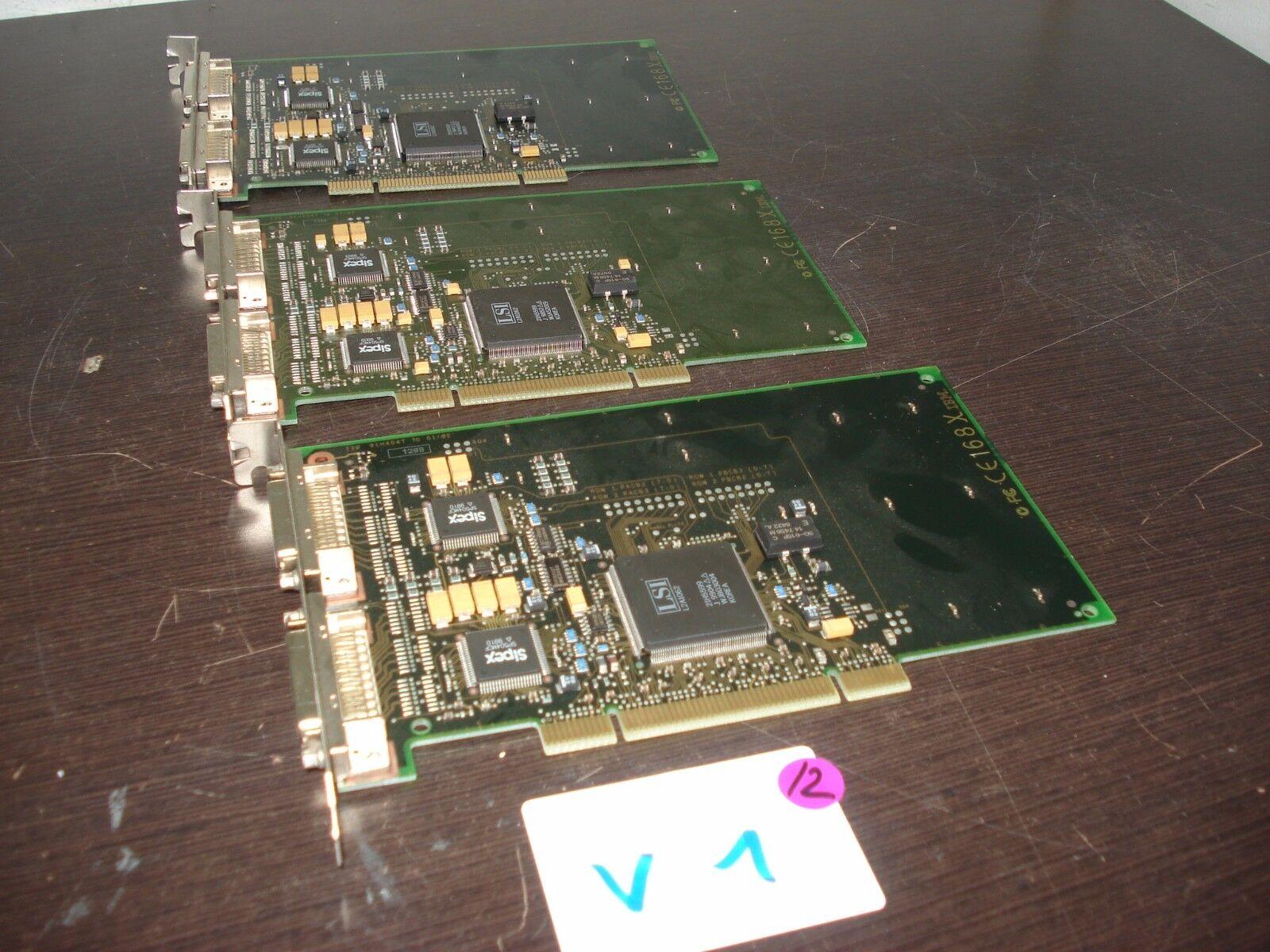 Lot of 5 IBM 91H4047 AS/400 Option 2745 PCI Dual WAN Interface