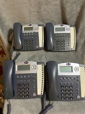 Atampt Model 1040 4 Line Small Business Telephone System 4 Telephones Included
