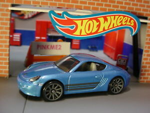 2019 hot wheels porsche cayman s new blue gray 10sp multi pack exclusive loose ebay. Black Bedroom Furniture Sets. Home Design Ideas
