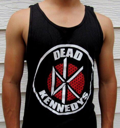 DEAD KENNEDYS METAL ROCK MEN/'s TANK TOP SIZES