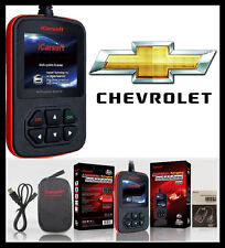 CHEVROLET Diagnostic Scanner Tool AIRBAG ABS CHECK ENGINE OBD2 CODE READER SCAN