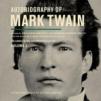 Autobiography Of Mark Twain, Vol. 2 By Mark Twain Cd 2013 Unabridged