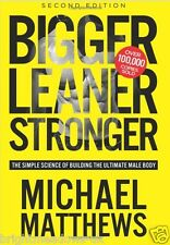 Bigger Leaner Stronger Mens Healthy Diet Cook Book Eating Bodybuilding Nutrition