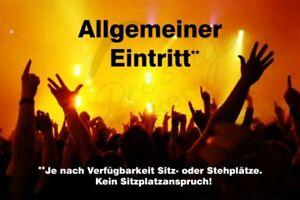 ANNE-MARIE-Koeln-08-05-19-STEHPLATZ-Tickets-Karten