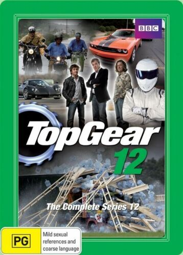 1 of 1 - Top Gear :COMPLETE SERIES 12-STEELBOOK- 3 DISC SET DVDS LIKE NEW FREE POST AU R4