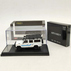 Master 1:64 Land Rover Defender 110 Diecast Model Toy with Luggage Rack 3 Colors