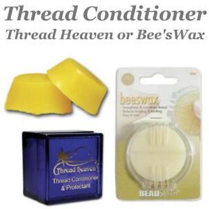 Beeswax Thread Conditioner