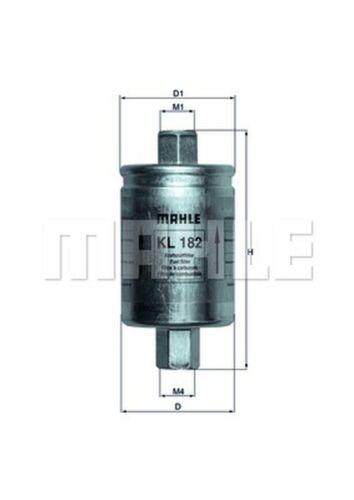 Filtro de combustible Knecht KL 182 para rover 200 RF 25 100 metro XP 400 RT 45 XW 16v