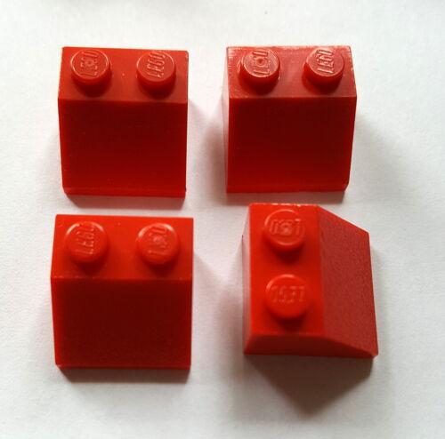 LEGO obliquo pietre Pietre Tetto 4 pezzi Rosso 3039 45 ° 2x2 LEGO SYSTEM 27