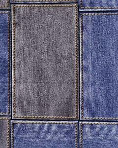 Image Is Loading Galerie Bluff Feature Wallpaper Blue Jeans Denim Square