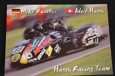 Card Hänni Racing Sidecar Team '06 #55 Mike Roscher (ger) Adolf Hänni (sui) (hw) Elegant In Stijl