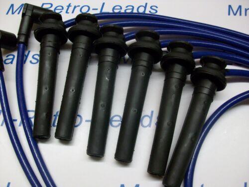 Azul 8MM rendimiento ignición leads para el Mondeo ST220 MKIII 3.0i V6 24V