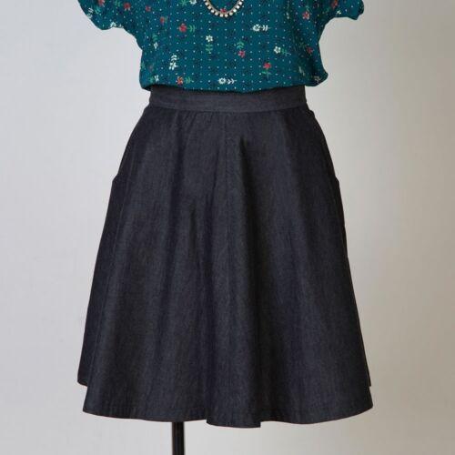 Gratis Reino Unido P/&p sewaholic señoras falda 1206 Hollyburn fácil patrón de costura ...