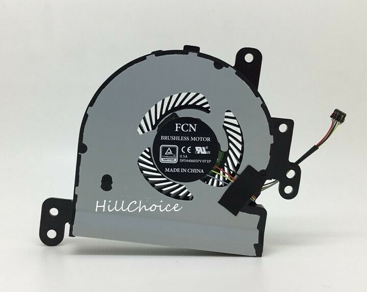 New CPU Cooling Fan For ASUS VivoBook Max X441 Laptop (4-PIN) 13NB0CD0T01011