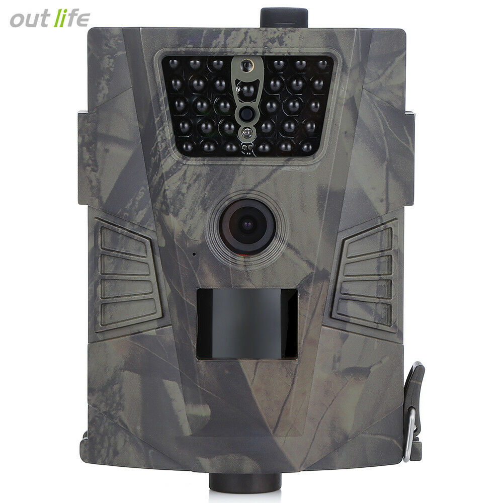 720P HD Hunting Camera Waterproof Night Vision Scout Farm Security Trail Device