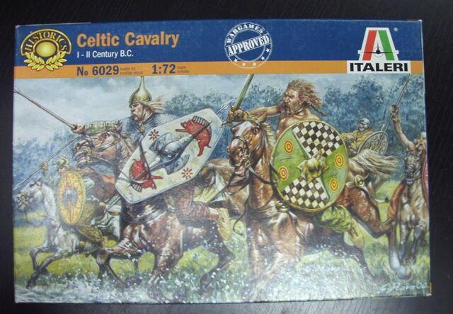 Italeri Celtic Cavalry I-II Century B.C. - 1:72