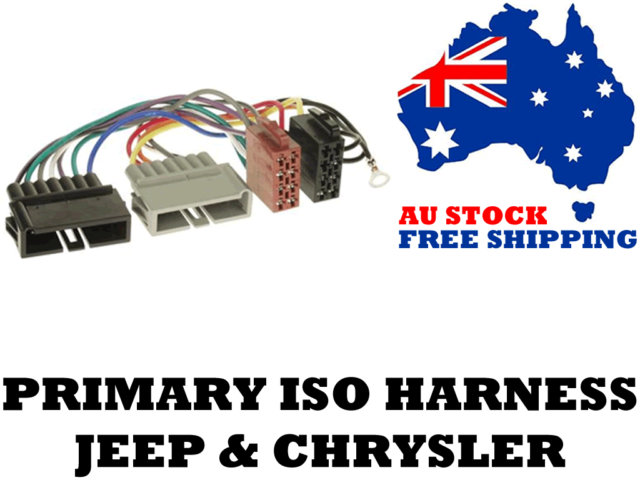 Aerpro APP017 Primary ISO Harness Suit Jeep & Chrysler