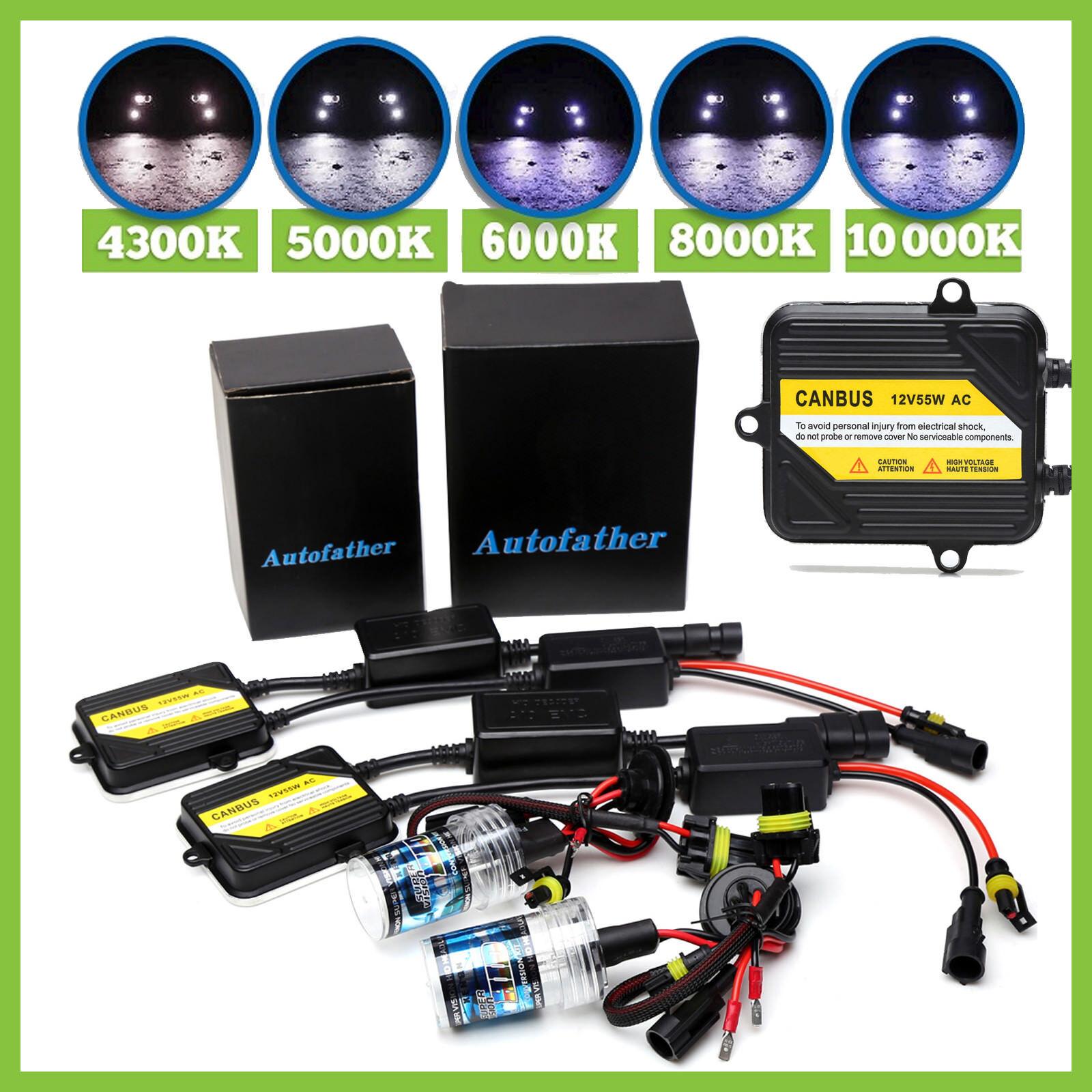 H4 H7 H1 AC Hid Xenon Car Headlight Kit Canbus Error Free 5000 6000 8000 10000K