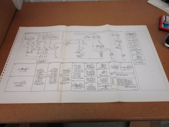 Original 1975 Mercury Montego Wiring Diagram Sheet