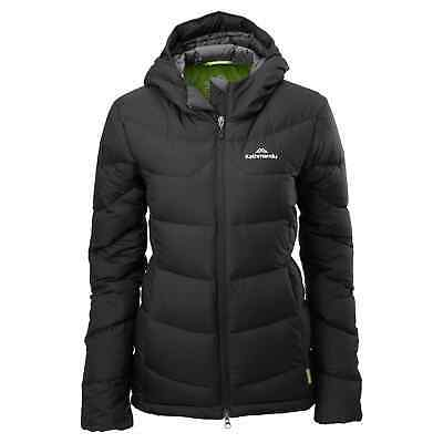 NEW Kathmandu Epiq Women's Hooded Warm Winter Duck Down Puffer Jacket