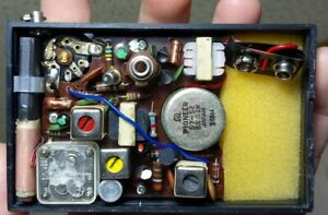 Vintage General Electric Pioneer Japan Hong Kong GE P2750 AM Transistor Radio