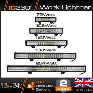 IC360-4K-LED-12-24v-High-Powered-Work-Light-Bar-Flood-Offroad-Roof-Light-4x4