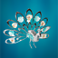 Crystocraft-Proud-Peacock-Crystal-Ornament-With-Swarovski-Elements-Gift-Boxed thumbnail 3