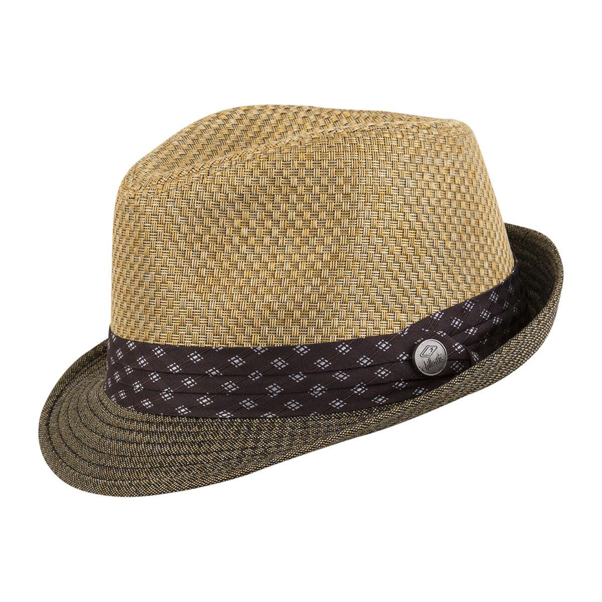 CHILLOUTS Luton Hat in Golden Braun S/M   Herren Hut   Trilby Hut   Sommerhut