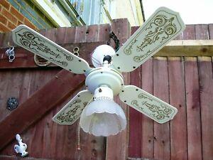 Gibson-Lighting-Ventilateur-de-plafond-lumiere-4-lames