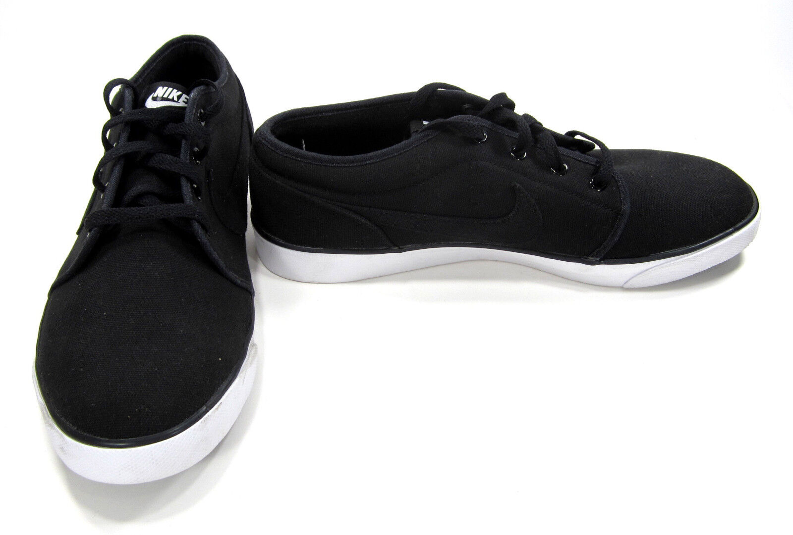 Nike shoes Coast Classic Canvas Black White Sneakers Size 13