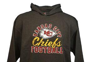 Kansas City Chiefs NFL Majestic Grey Kick Return Pullover Hoodie  for sale