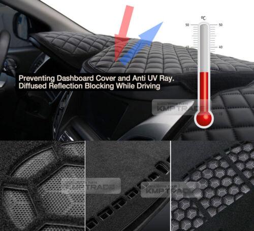VIP Luxury Leather Dashboard Sun Cover Mat for KIA 2017-2018 Sportage QL