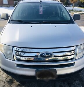2010 Silver Ford Edge for sale by owner with winter tires
