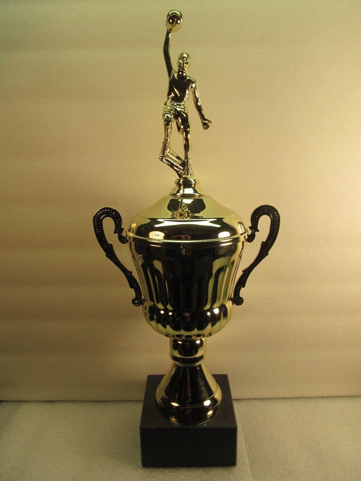 Baloncesto TROFEO premio de oro metal base de mármol GRABADO GRATUITO se envía 2 día de correo