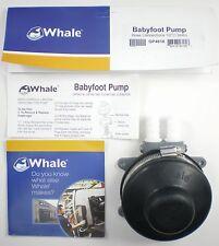 Whale Babyfoot Self Water Priming Foot Pump - Boat Caravan Motor Home - AS6
