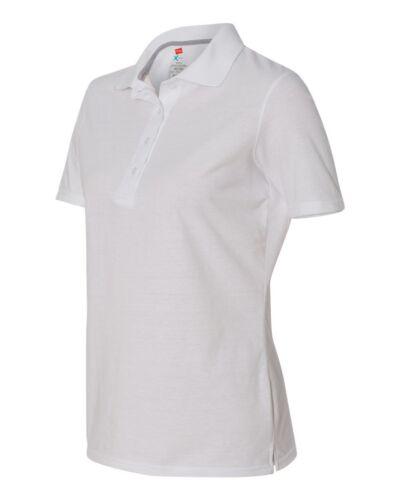 X-Temp Women/'s Sport Shirt Poio 43X0 S-3XL Short Sleeve Hanes